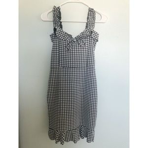 Missguided Gingham print dress